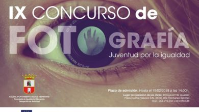 """IX Concurso de Fotografía """"La Juventud por la Igualdad"""""""
