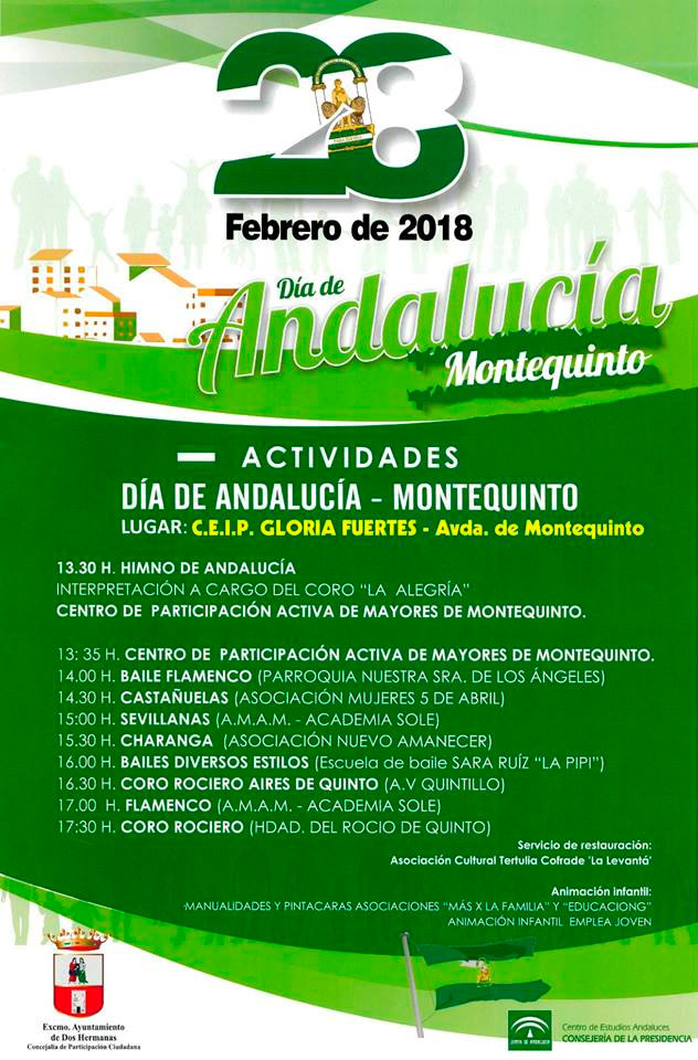 Día de Andalucía en Montequinto