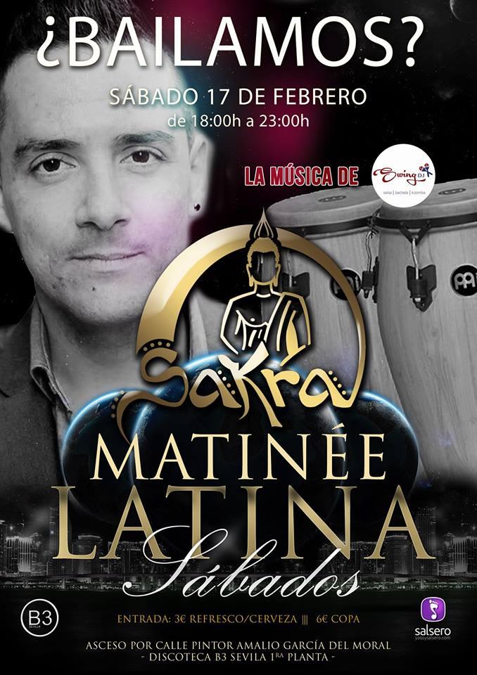 ¿Bailamos? con La Rosa Negra en B3 Sevilla