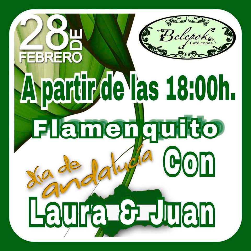 Flamenquito con Laura & Juan en Belepok Café
