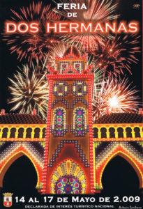 Cartel anunciador de Feria de Dos Hermanas 2009