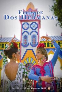 Cartel anunciador de Feria de Dos Hermanas 2011