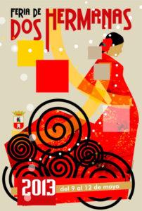 Cartel anunciador de Feria de Dos Hermanas 2013