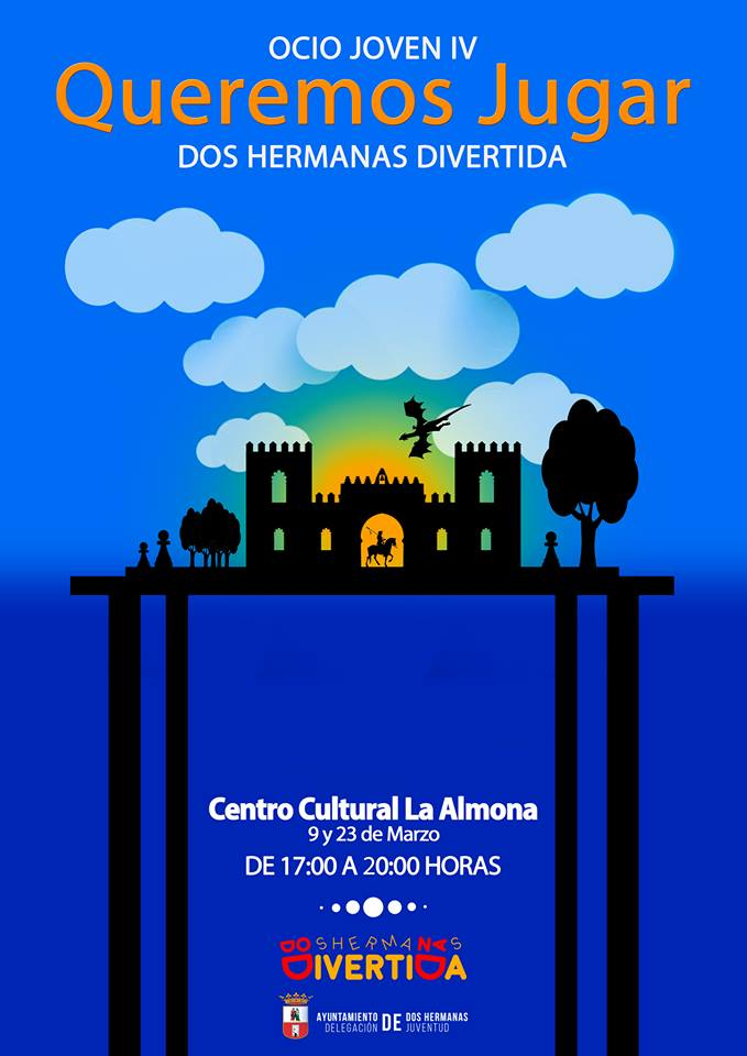 Ocio Joven IV con Queremos Jugar en Centro Cultural 'La Almona'