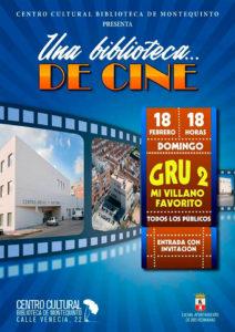 Una Biblioteca de Cine presenta 'Gru 2. Mi villano favorito'