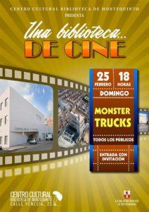 Una Biblioteca de Cine presenta 'Monster Trucks'