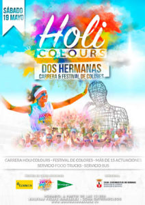 Carrera y Festival de Colores Holi Colours Dos Hermanas