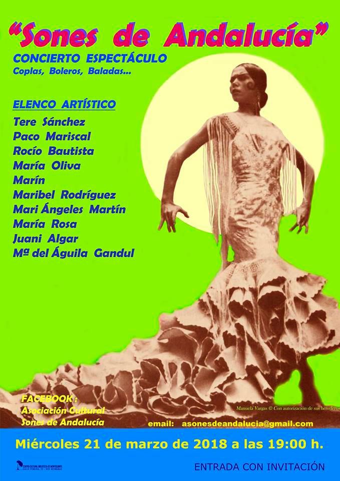 Concierto de copla y canción española con Sones de Andalucía