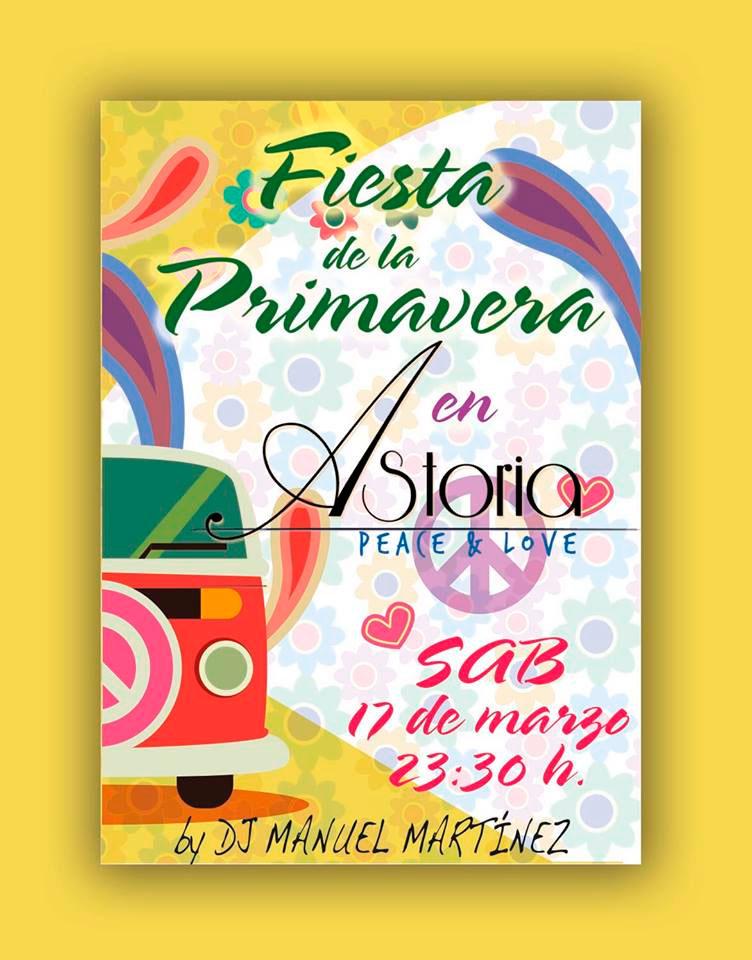 Fiesta de la Primavera en Astoria Café