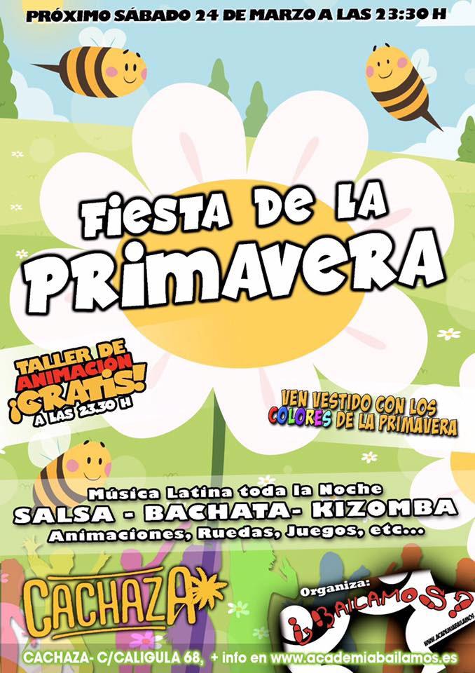 Fiesta de la Primavera en Cachaza Café
