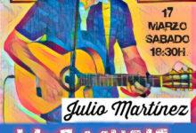 Julio Martínez con su flamenquito en Astoria Café