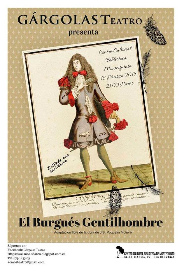 Obra teatral 'El Burgués Gentilhombre'