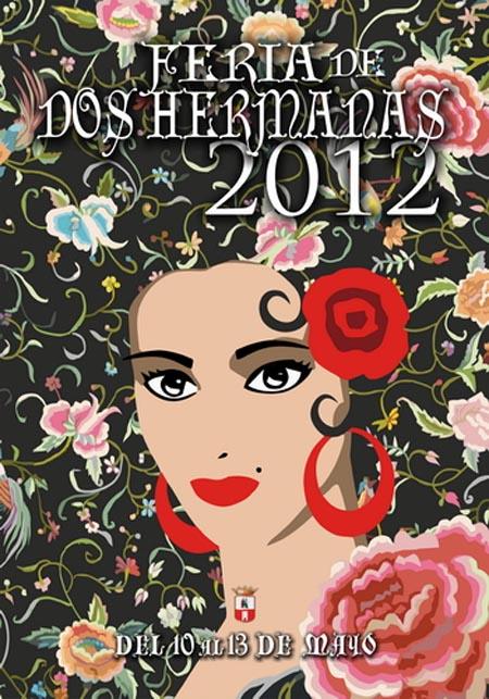 Cartel de Feria de Dos Hermanas 2012