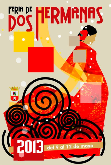Cartel de Feria de Dos Hermanas 2013