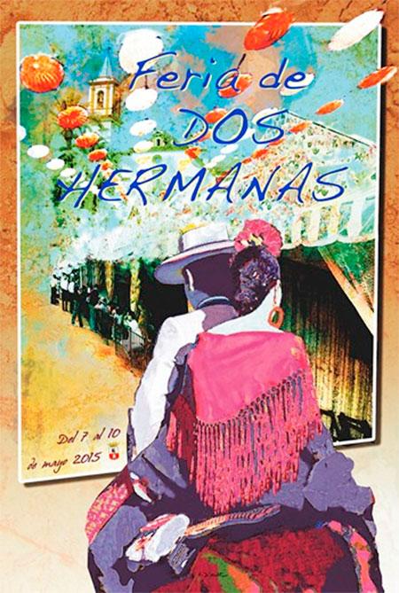 Cartel de Feria de Dos Hermanas 2015