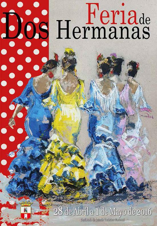 Cartel de Feria de Dos Hermanas 2016