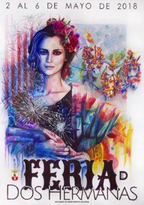 Cartel anunciador de Feria de Dos Hermanas 2018