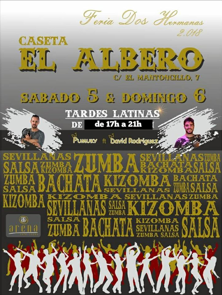 """Caseta """"El Albero"""" - Tardes Latinas en la Feria de Dos Hermanas 2018"""