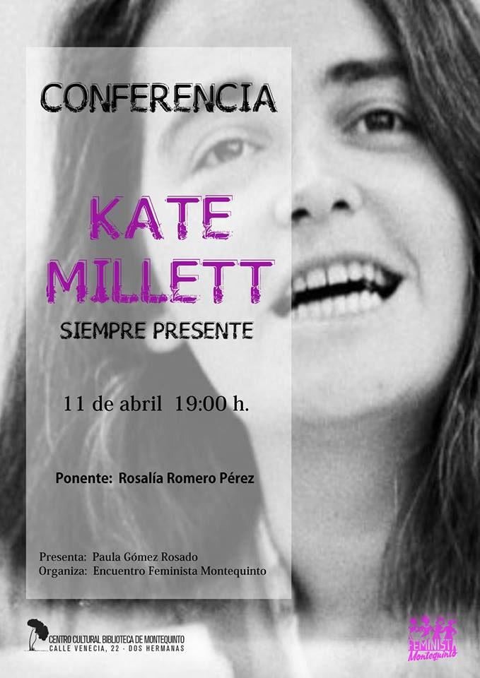 Conferencia-homenaje 'Kate Millett, siempre presente'