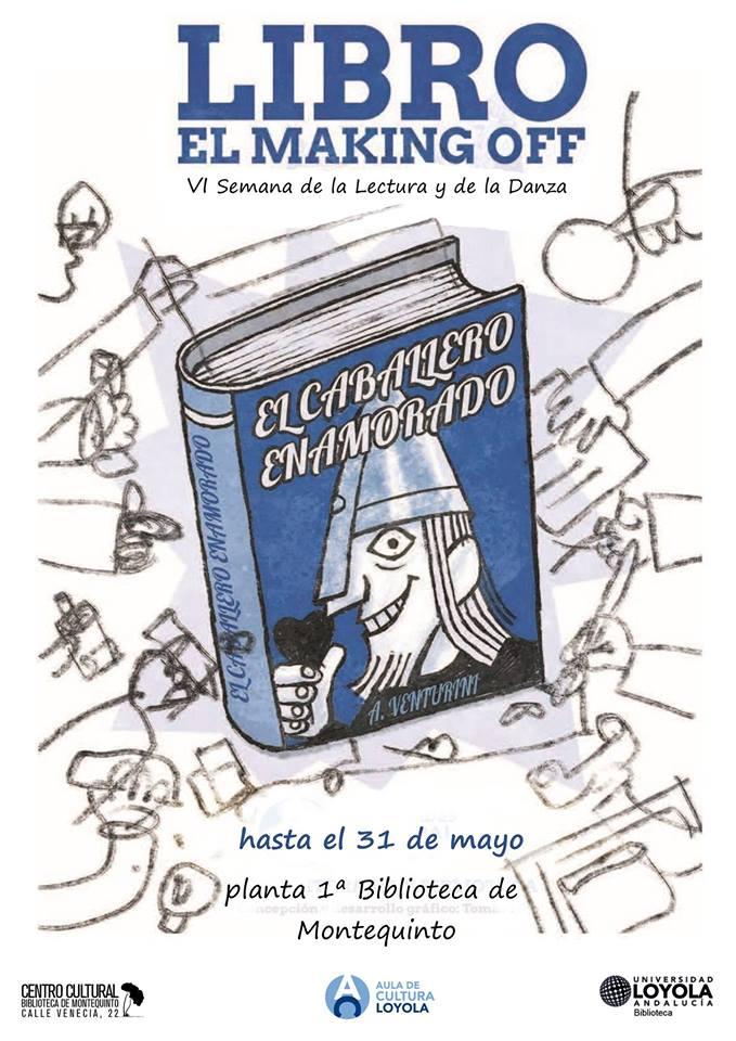 Exposicion Dia Mundial del Libro El making off del libro