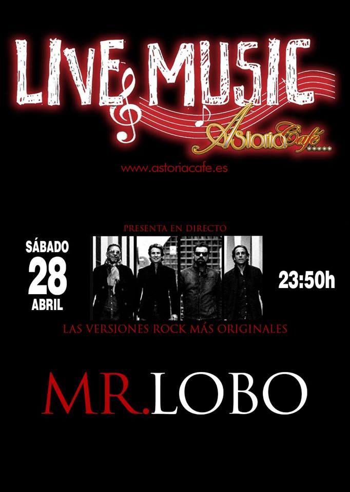 Mr. Lobo en Astoria Café