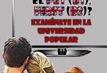 Necesitas Pet (B1) First (B2) Examinate en la Universidad Popular