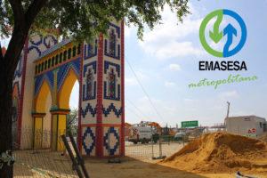 Obras Emasesa - Tanque de tormentas