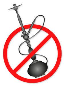 Prohibido Cachimbas Shisas en Feria de Dos Hermanas