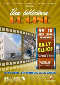 Una Biblioteca de Cine proyeccion de Billy Elliot