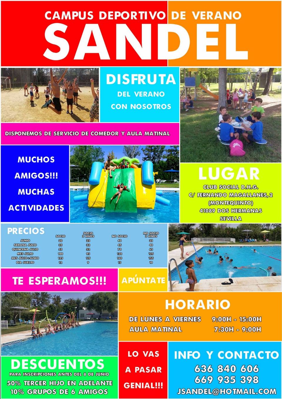 Campus Deportivo de Verano Sandel Club DHG Montequinto