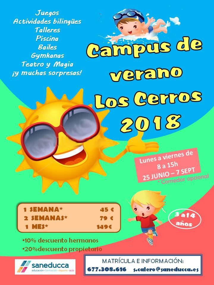 Campus de verano Los Cerros 2018