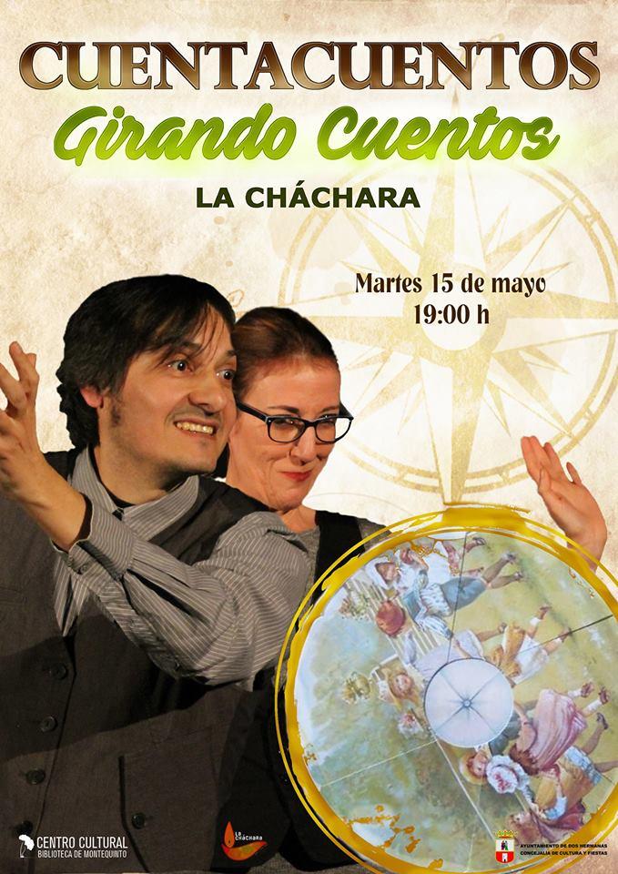 Cuentacuentos en familia 'Girando cuentos' con La Cháchara