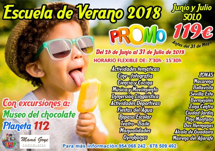 Escuela de verano 2018 en CEIP Carlos I
