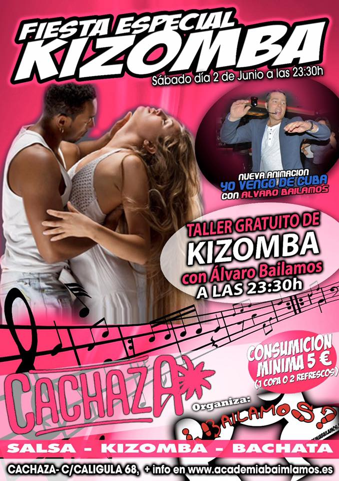 Fiesta especial Kizomba en Cachaza Café