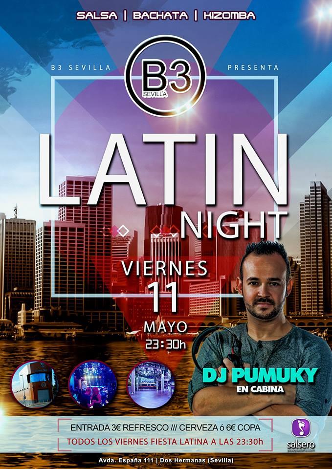 Latin Night en B3 Sevilla