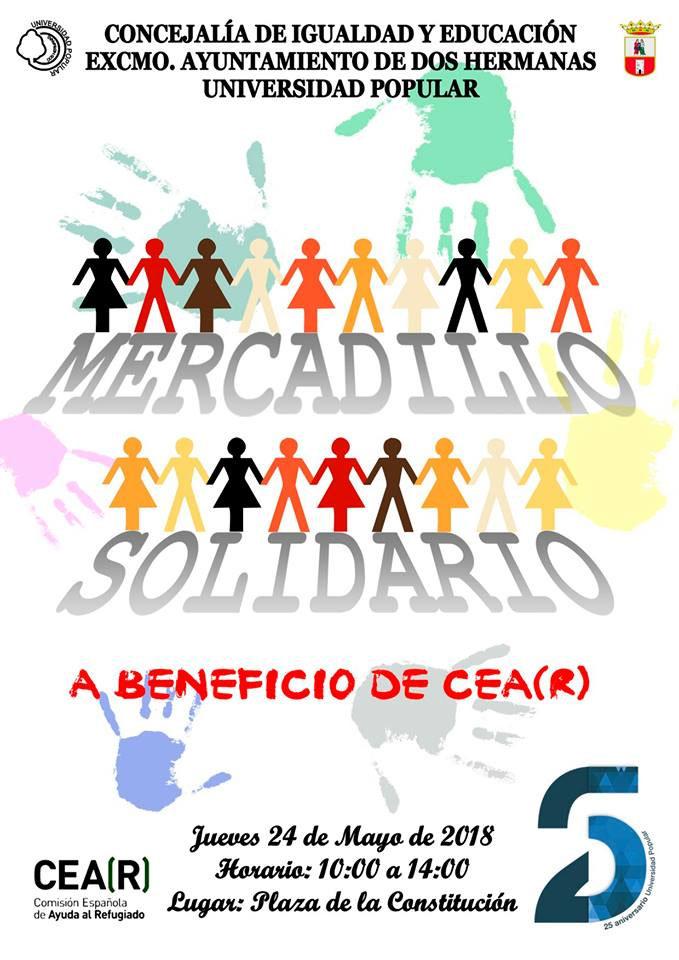 Mercadillo Solidario a beneficio de CEA(R)