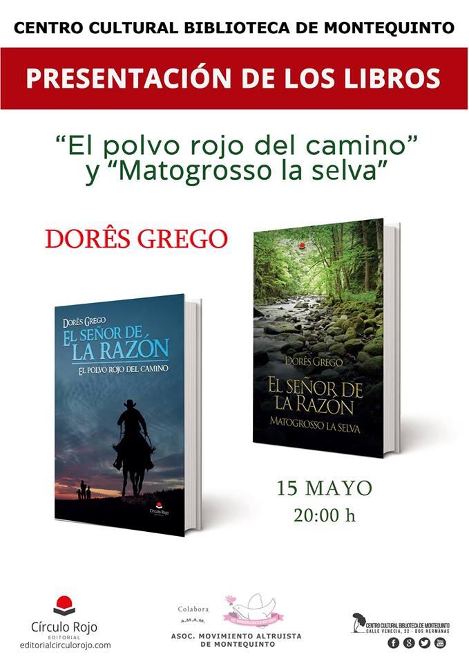 Presentación de libros trilogía 'El señor de la Razón' de Dôres Grego