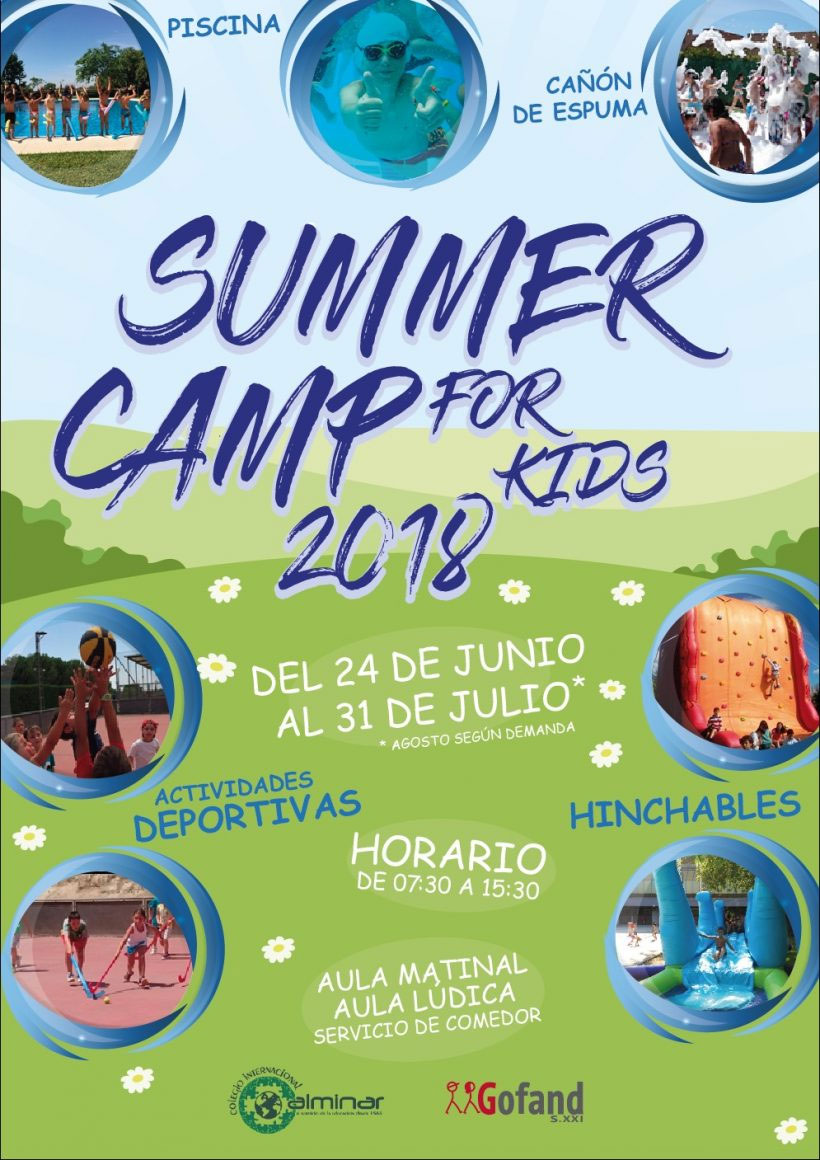 Summer Camp for Kids 2018 en Colegio Internacional Alminar
