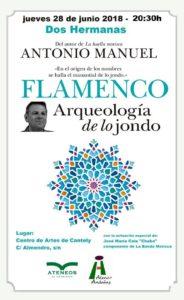 Antonio Manuel - Flamenco aqueología de lo jondo