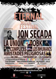 Eternal Music Festival en Dos Hermanas Viernes 29 de septiembre de 2018