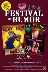 Festival del humor con Comandante Lara y Toni Rodríguez en Look Sevilla