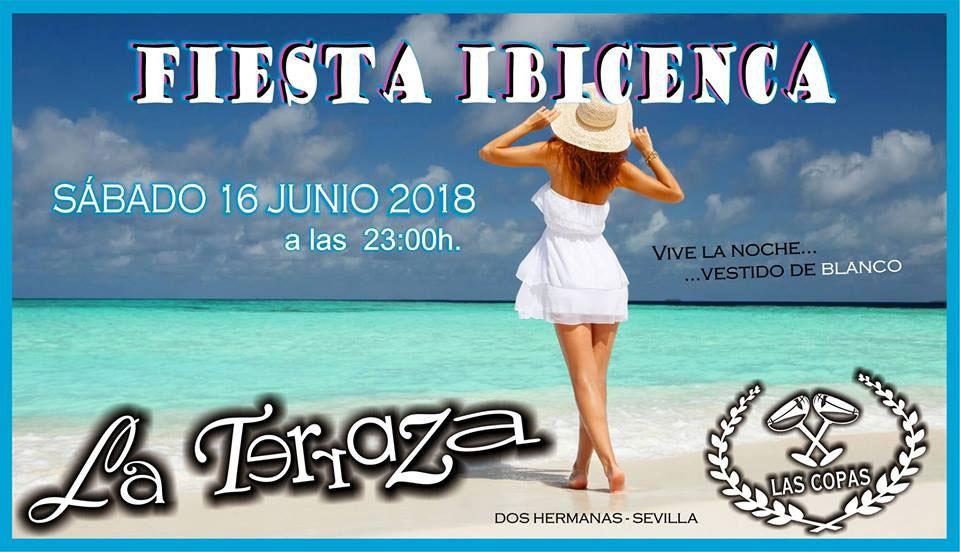 """Fiesta Ibicenca en La Terraza """"Las Copas"""""""
