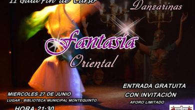 """II Gala fin de curso del grupo de danza del vientre """"Danzarinas"""" - Fantasía Oriental"""