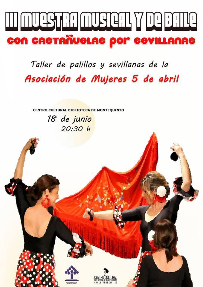 III Muestra musical y de baile 'Con castañuelas por sevillanas'