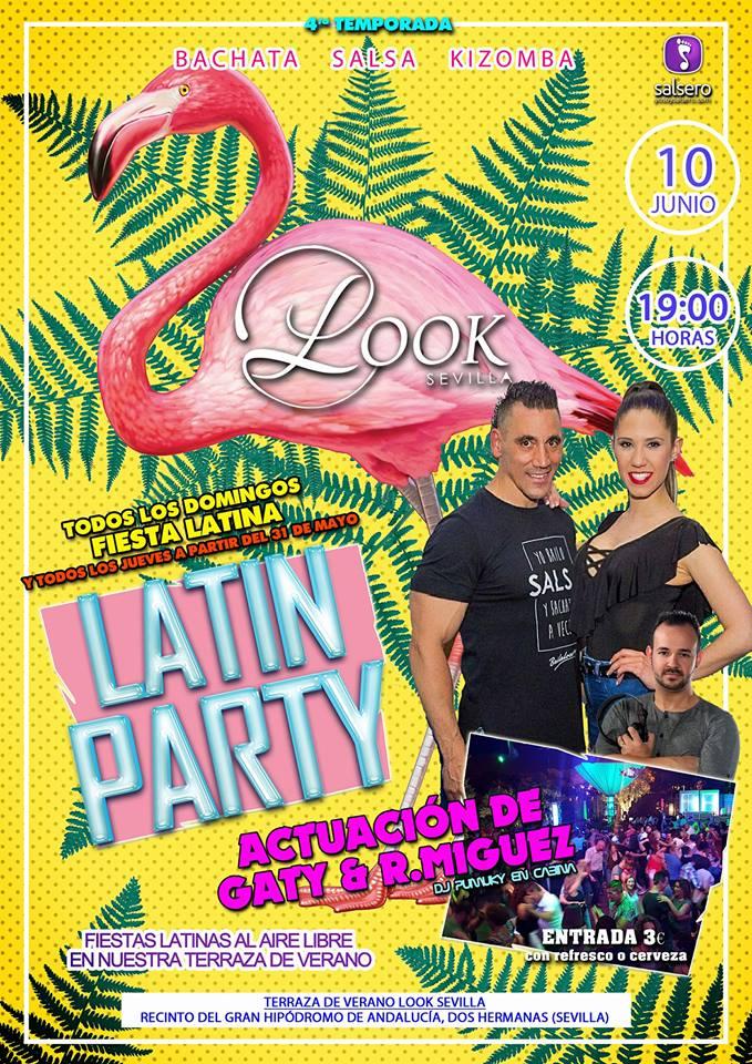 Latin Party en Look Sevilla