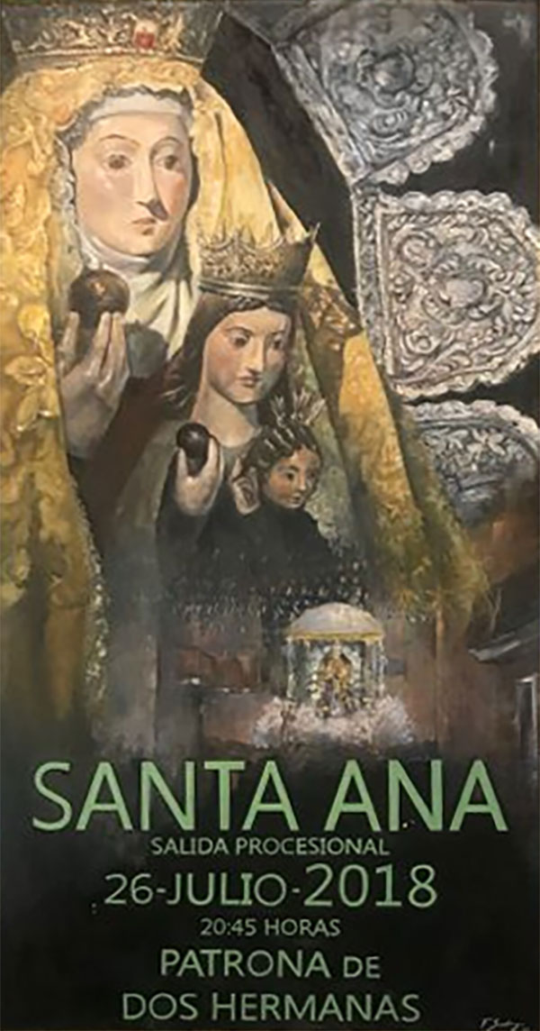 Festividad Santa Ana 2018 patrona de Dos Hermanas