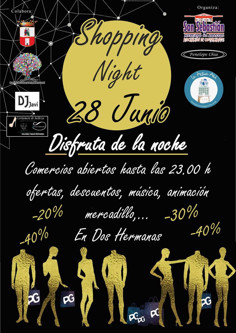 III Shopping Night de la Asociación de Comerciantes San Sebastián y Plaza de Abasos