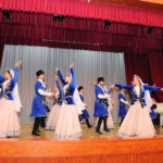The Ganjlik song and dance ensemble state oil and industry university - República de Azerbaijan