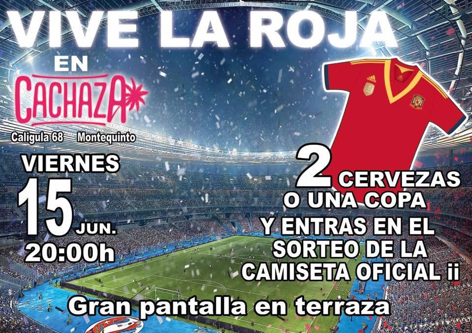 Vive la Roja en Cachaza Café - Portugal Vs. España