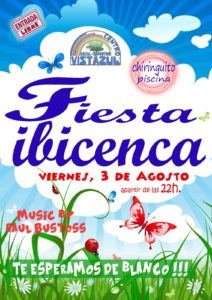 Fiesta Ibicenca en el Chiringuito del CSD Vistazul con Dj Raúl Bustoss